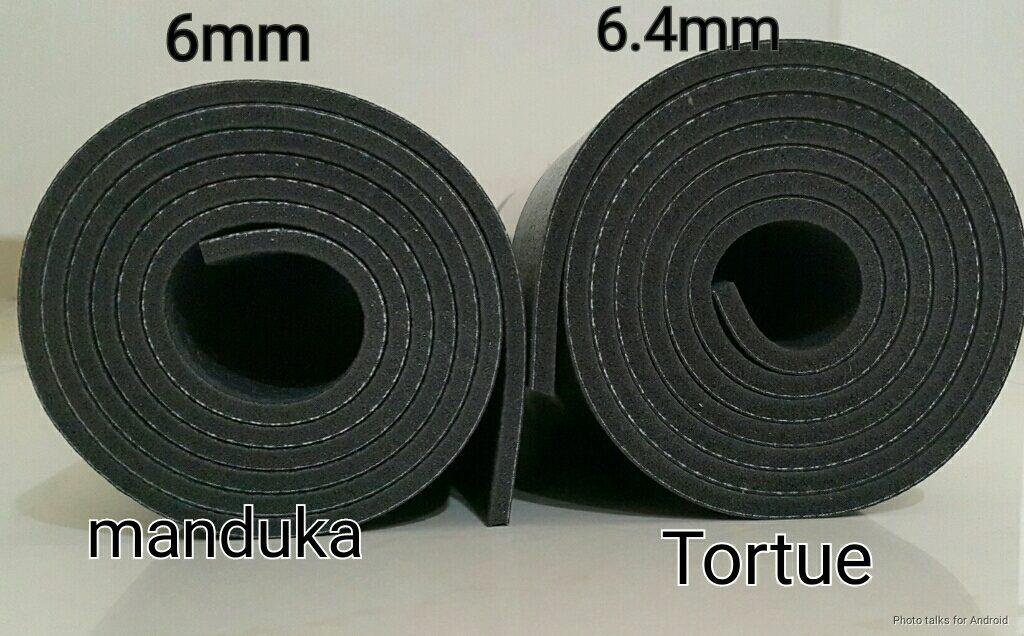 manduka vs Tortue Black mat