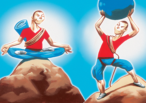 senam yoga atau pilates