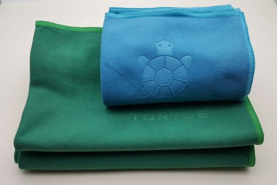 "Aquatic ""Hand"" Towel - Green 4"