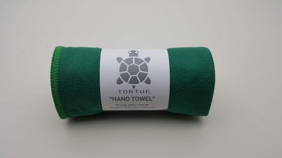 "Aquatic ""Hand"" Towel - Green 2"