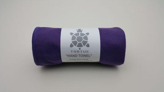 "Aquatic ""Hand"" Towel - Purple 3"