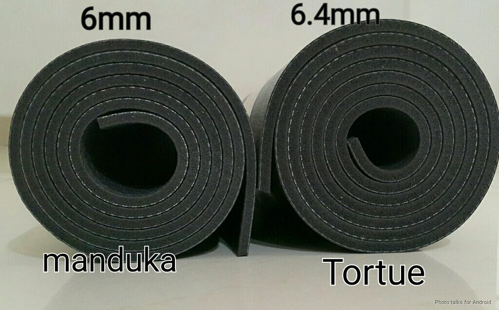 manduka vs Tortue Black mat