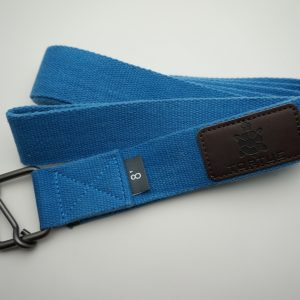 tortue yoga strap blue